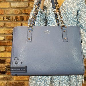 Kate Spade Andee Cobble Hill Blueberry Cobbler New